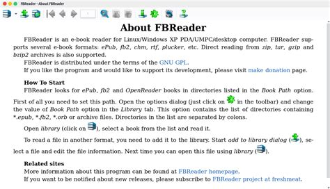 multi format ebook reader software fbreader a lightweight multi platform ebook reader