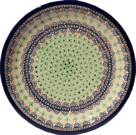 country dinner plates pottery dinner plate blue and green country