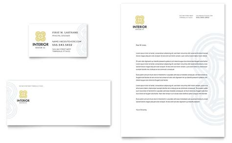 indesign business card template letter template free interior design business card letterhead template design