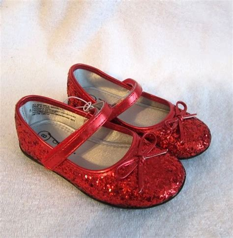 toddler ruby slippers glitter shoes sz 5 toddler dorothy ruby slippers oz