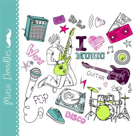 the sonars musical doodle free clipart doodle pencil and in color clipart