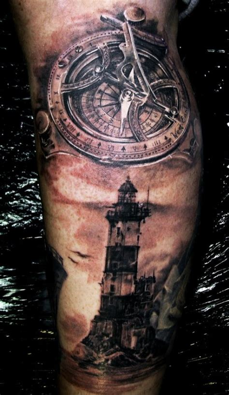 incredible lighthouse tattoo design tattoomagz