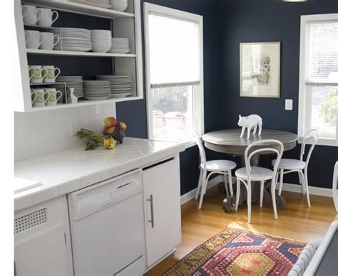dark blue kitchen walls pin by dawn mgb on i want to live here pinterest