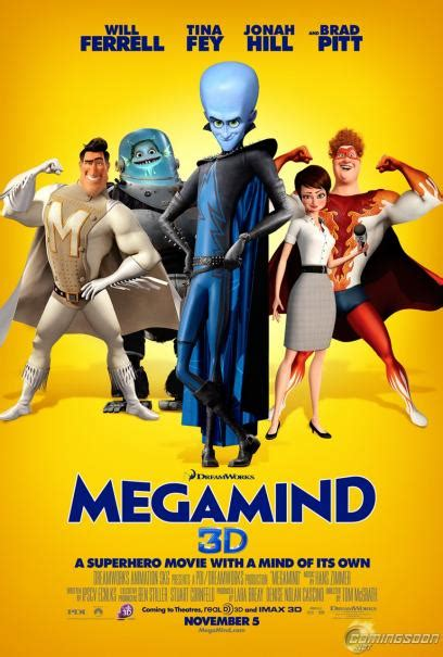 7 Best Animated Of 2010 by Megamind 2010 Comingsoon Net