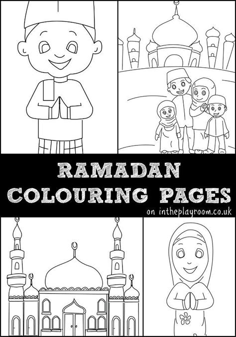 ramadan colouring pages ramadan free printables and muslim