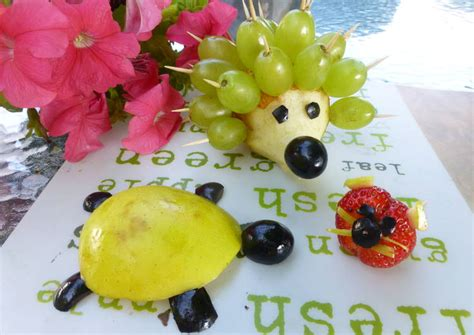 recetas de cocina para ni os divertidas frutas divertida para los ni 241 os receta de milandebrera