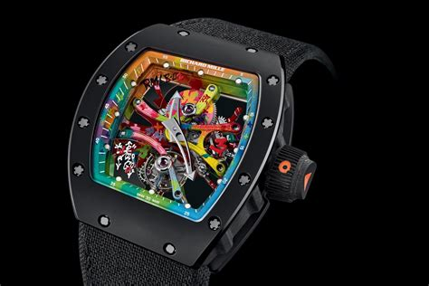 Richadr Mille introducing the richard mille rm 68 01 tourbillon cyril kongo specs and price monochrome watches