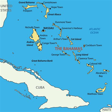 the bahamas map bahamas luxury yacht charter