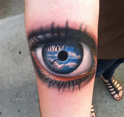eye tattoo faq eye on forearm by johnny smith tattoonow