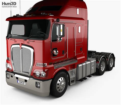model kenworth trucks kenworth k200 tractor truck 2010 3d model hum3d
