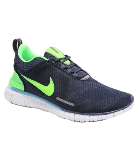 blue and green shoes nike navy blue and green sports shoes buy nike navy blue