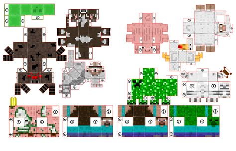 Minecraft Make Paper - minecraft papercraft paper toys minis craft