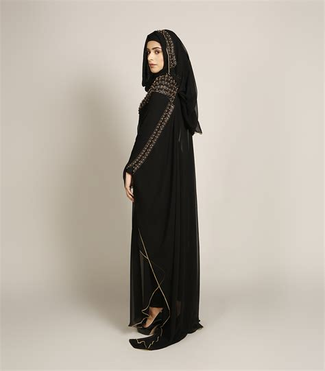 Abaya Gold rich gold abaya black abayas luxury abayas miss abaya