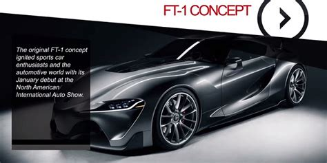 my toyota online say hello to ft 1 concept my pro street