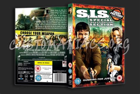 special investigation section sis special investigation section dvd cover dvd covers