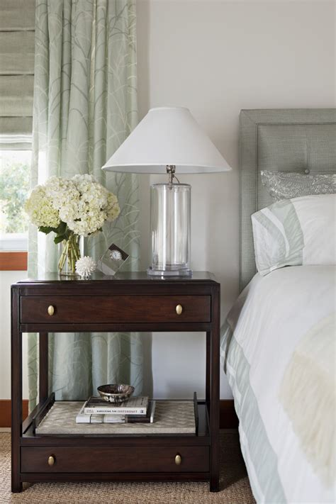 decorate bedside table bedroom transitional czmcamorg