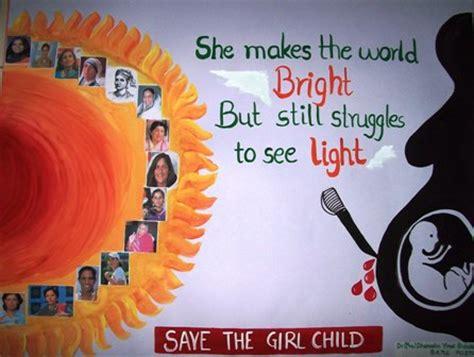 themes on save girl child bhagwan ji help me save the girl child