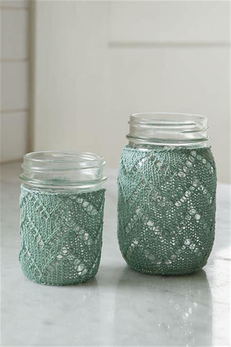 crochet pattern jar cozy chevron mason jar cozy knitting patterns and crochet