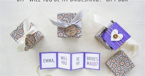 Where Can I Use My Big W Gift Card - diy quot will you be my bridesmaid quot gift box free printable
