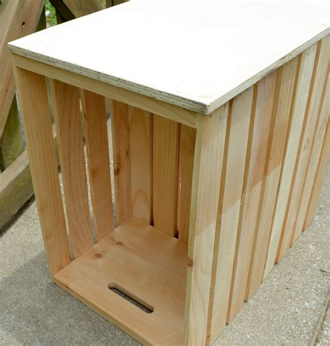 Wooden Crate Table by Diy Wooden Crate Outdoor Table One Artsy