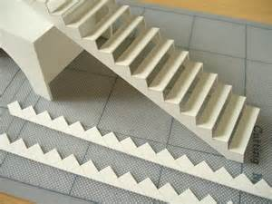 How To Make Stairs Out Of Paper - a model spiral staircase davidneat