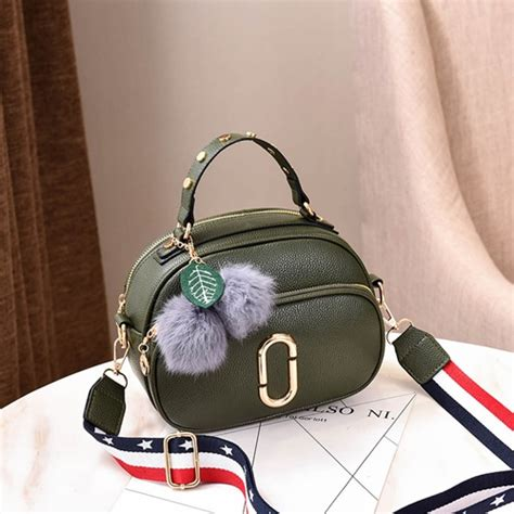 Tas Import Fashion Korea Vsb54 Green jual b77955 green tas pom pom fashion korea grosirimpor