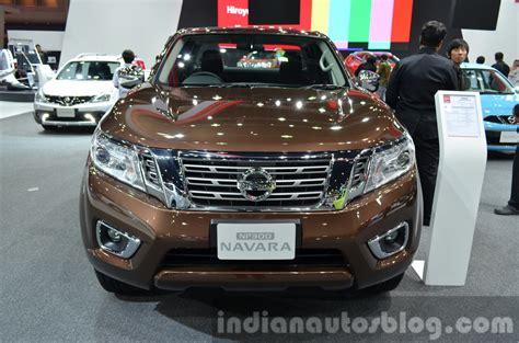 nissan thailand navara 2014 spyshot autos weblog