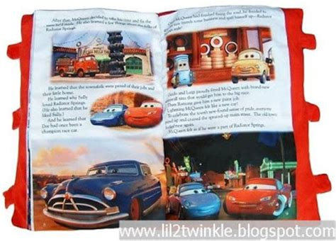 Cars Pillow Book by Lil Twinkle Cars Pillow Story Book