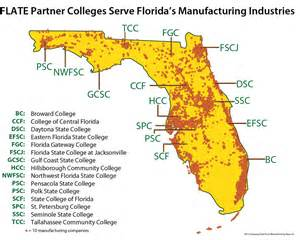 florida industry map industry