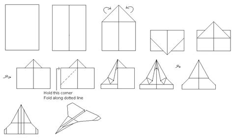 Paper Airplanes That Fly Far And Are Easy To Make - paper airplane ideas november 2005