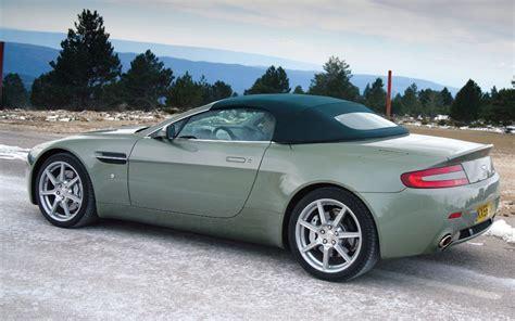2007 aston martin v8 vantage roadster first drive motor trend