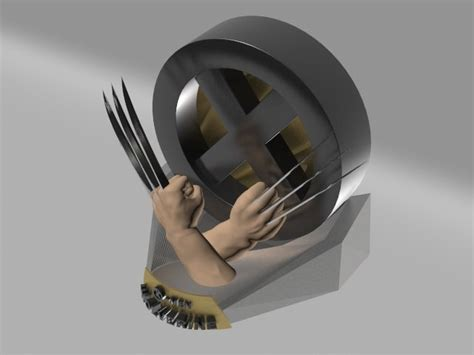 Spesial Kaos 3d Umakuka Wolverrine Claw 3d wolverine claws model