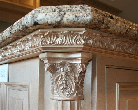ornate kitchen cabinets cabinet details lantz custom woodworking