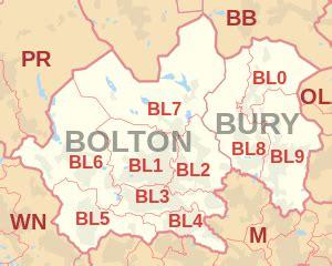 bl postcode area wikipedia