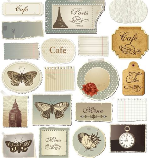 vintage classic design label elements vintage label elements vector vector graphics blog