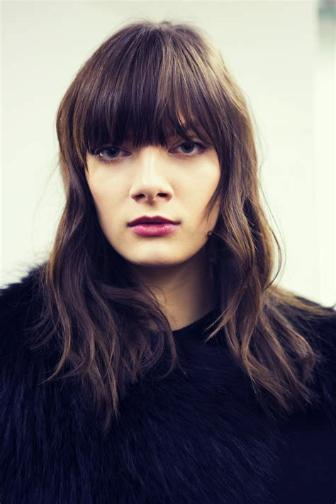 Trend Alert Kimberley Stewart And Matronic Fringed Styles And by The 50 Best Bangs For Fall 2015 Stylecaster