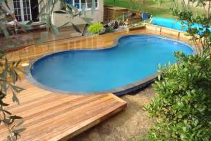 wood pool deck pool backyard designs joyful above ground pool decks with natural atmosphere above groun