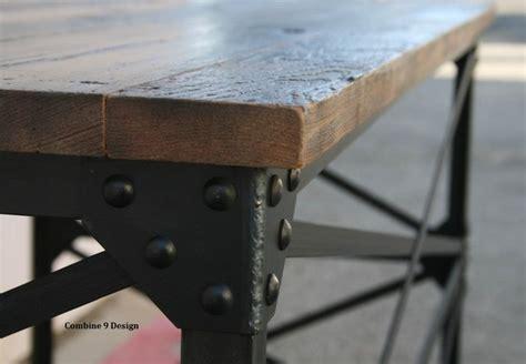 modern industrial desk vintage table industrial
