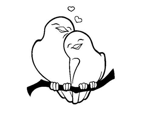 imagenes de animales enamorados dibujo de palomitas enamorados para colorear dibujos net