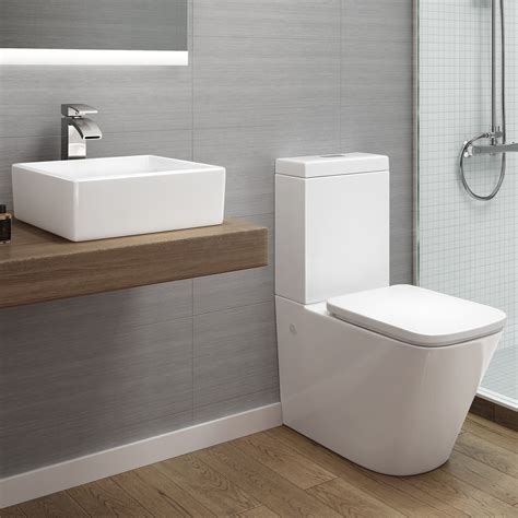 florence coupled toilet counter top basin