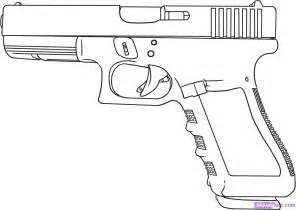 Firearms Colouring Pages sketch template