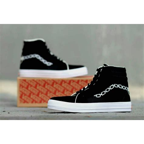 Harga Vans Polos sepatu vans authentic black hitam polos white putih