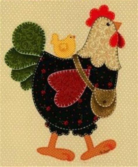 Patchwork Chickens - gallina para limpiones o tohalla de cocina patchword