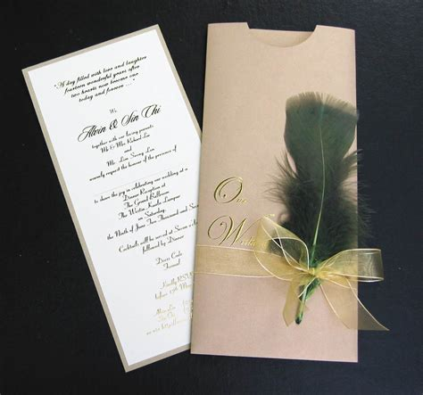 Wedding Invitation Card by Inspiring Wedding Card Designs Dzinepress
