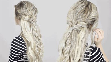 easy hair updos with a crown poof easy hair updos with a crown poof half up half down