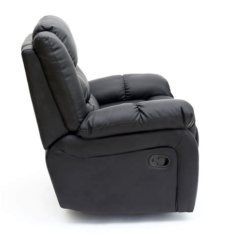 Recliners Seattle by Seattle Leather Recliner Armchair Sofa Home Lounge Chair