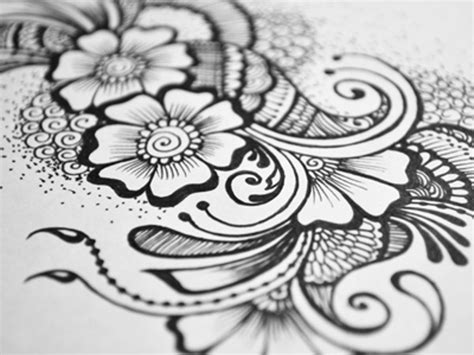 doodle flower patterns 20 doodle patterns photoshop patterns freecreatives