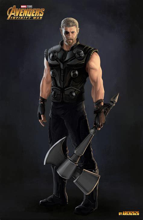 Sale Thor Battle Hammer Thor Marvel Studios The Mighty Avanger Tinggi fanmade concept of thor in infinity war by eugene napadovskiy marvelstudios