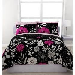 Bedding Sets In A Bag Formula Twilight Garden Reversible Bed In A Bag Walmart