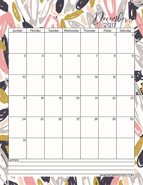 printable december calendar page free printable 2017 monthly calendars printable